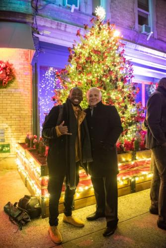 UPTOWN Jazz Tree Lighting Celebration